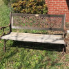 Cast Iron & Wooden Bench