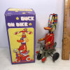 Tin Duck on Bike Collector's Toy with Box