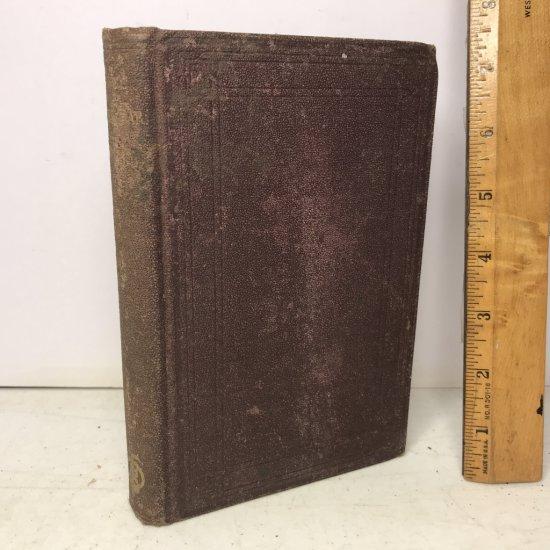 "1870 ""The Gates Ajar"" by Elizabeth Stuart Phelps Post Civil War Hard Cover Book"