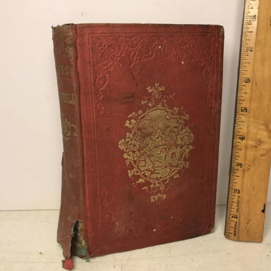 """1853 """"Crests From The Ocean-World; or Experiences in A Voyage to Europe"""