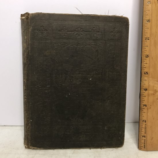 """1880 """"The Gospel Hymnal"""" Hard Cover Book"""