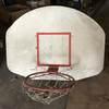Basketball Backboard, Rim & Net