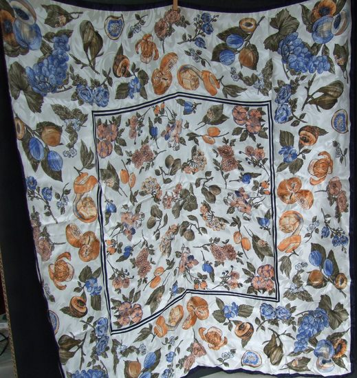 Vintage Silk Scarf Scarf - Made in Italy
