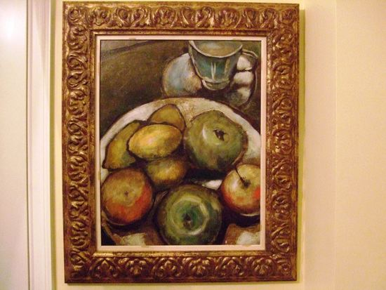 Joseph Bradley Fruit Plate 2 2007. Oil On Canvas (16x20)