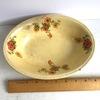 Vintage Oval Floral Serving Bowl