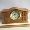 Mr. Christmas Animated Oak Symphony Musical Clock - Works