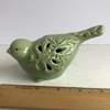 Green Pottery Potpourri Bird