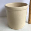 Vintage Small Pottery Crock