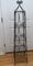 Tall Metal 4-Tier Shelving Tower