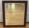 Rectangular Mirror with Wooden Frame