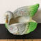 Vintage Pottery Swan Planter