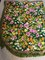 Vintage Morgan Jones Full Size Floral Bedspread with Fringed Edge