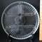 Vintage Divided Clear Glass Platter