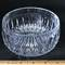 Lead Crystal Bowl with Thumbprint Design