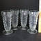 Set of 4 Ribbed Parfait Glasses