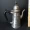 "Vintage Silver Plated Teapot Signed ""Leonard"""