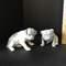 Pair of Porcelain Dog Figurines