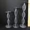 Set of 3 Pedestal Candle Holders
