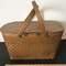 Vintage Wicker Picnic Basket