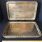 Set of 5 Solid Brass Trays - Made in India
