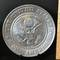 The United States of America 1776 Great Seal Decorative Pewter Plate