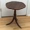 Nice Vintage Pie Crust Table with Beautiful Carvings & Brass Claw Feet