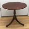 Small Vintage Pedestal Table on Casters