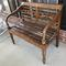 Distressed Wooden Bench