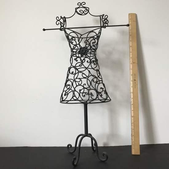 Metal Decorative Dress Form