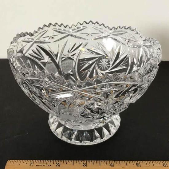 Leaded Crystal Dish