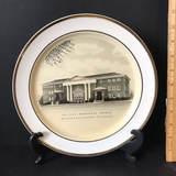 St. Paul Methodist Church Greenville SC Decorative Plate by Fotoware Preston-Hopkinson Co.