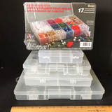 Lot of Misc Organizers - Great For Crafts & Hardware