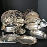 Lot of Misc Silver Plated Items