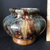 Glazed Pottery Planter