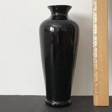 Tall Amethyst Glass Vase