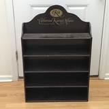 """5-Tier Wooden Advertisement Display Shelf """"Catherine Karen's Munn Collections"""""""