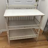 Painted White Changing Table
