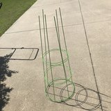 Pair of Green Tomato Cages