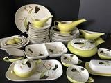 50 pc Vintage Redwing Pottery Dinnerware
