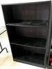 Black Wooden 3-Tier Book Shelf