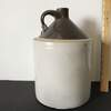 Large Vintage Whiskey Pottery Jug