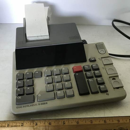 Texas Instruments TI-5130 II Adding Machine