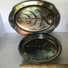 Pair of Vintage Silver Plated Serving Platters