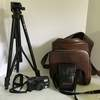 Pentax Zoom 90-WR Camera with Case & Tripod