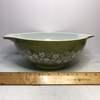 Vintage Pyrex Spring Blossom Green Cinderella Bowl