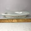 Pyrex 1-1/2 Quart Casserole Dish with Gold Flower Pattern