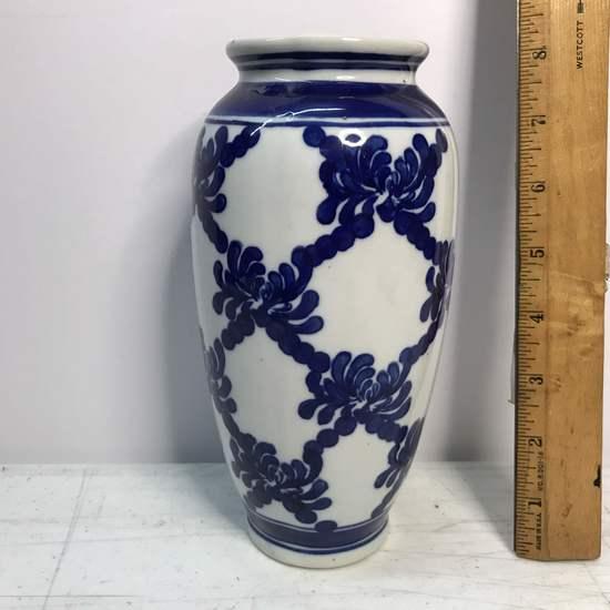 Porcelain Blue & White Vase