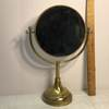 Vintage Brass Weighted Double Sided Vanity Mirror
