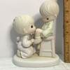 "Precious Moments ""You Are Always There For Me"" Porcelain Figurine with Box"