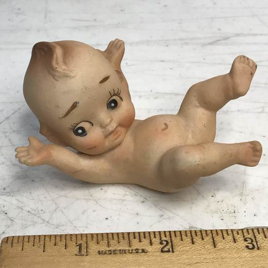 Vintage Porcelain Kewpie Style Figurine